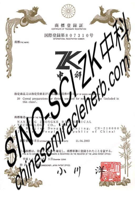 Japan Registration